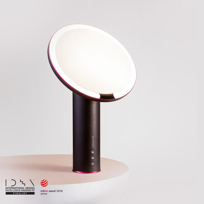 AMIRO O Series LED rechargeable mirror