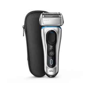 Braun Series 8 8330s Electric Foil Shaver, Silver