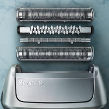 Load image into Gallery viewer, Braun Series 8 8330s Electric Foil Shaver, Silver