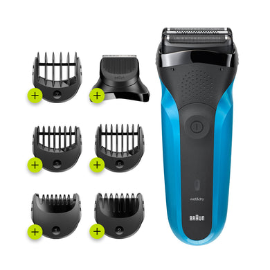 Braun Series 3 310BT – Rechargeable Electric Shaver & Beard Trimmer