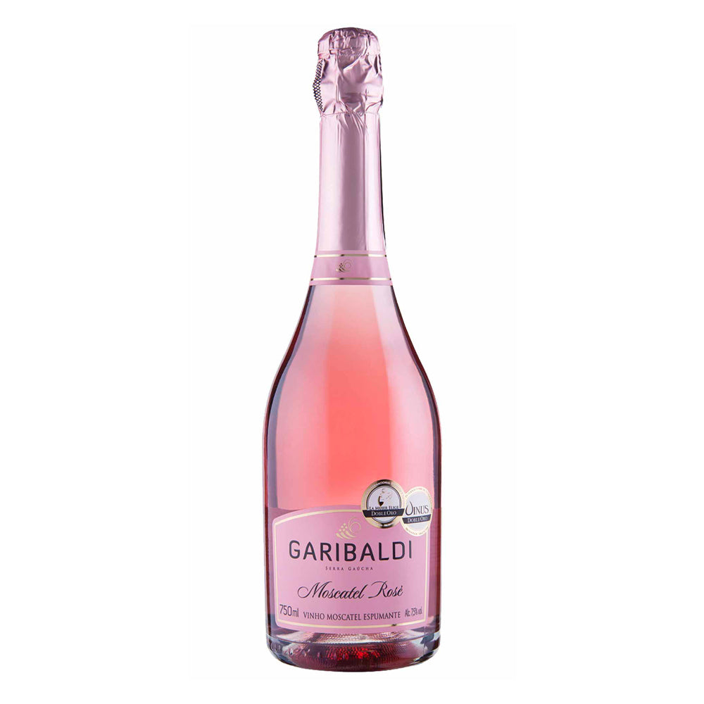 Espumante Garibaldi Moscatel Rose 750ml