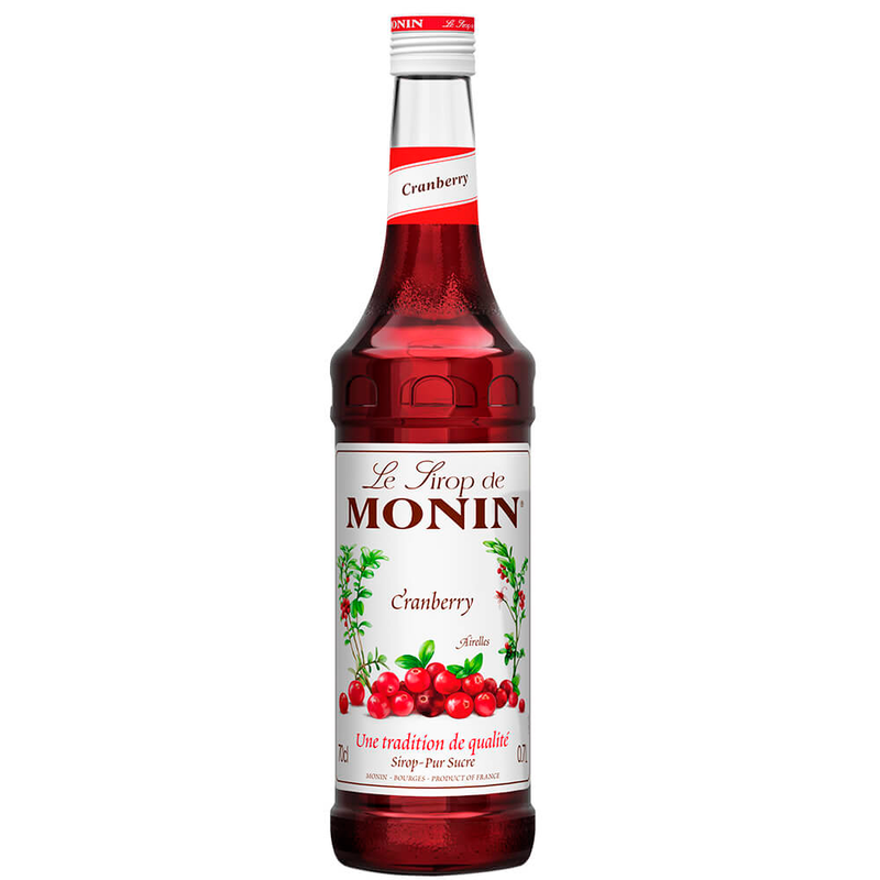 Xarope Francês Monin Cranberry 700ml