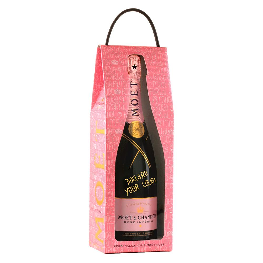 Champagne Moët & Chandon Imperial Rosé Love Bag 750ml