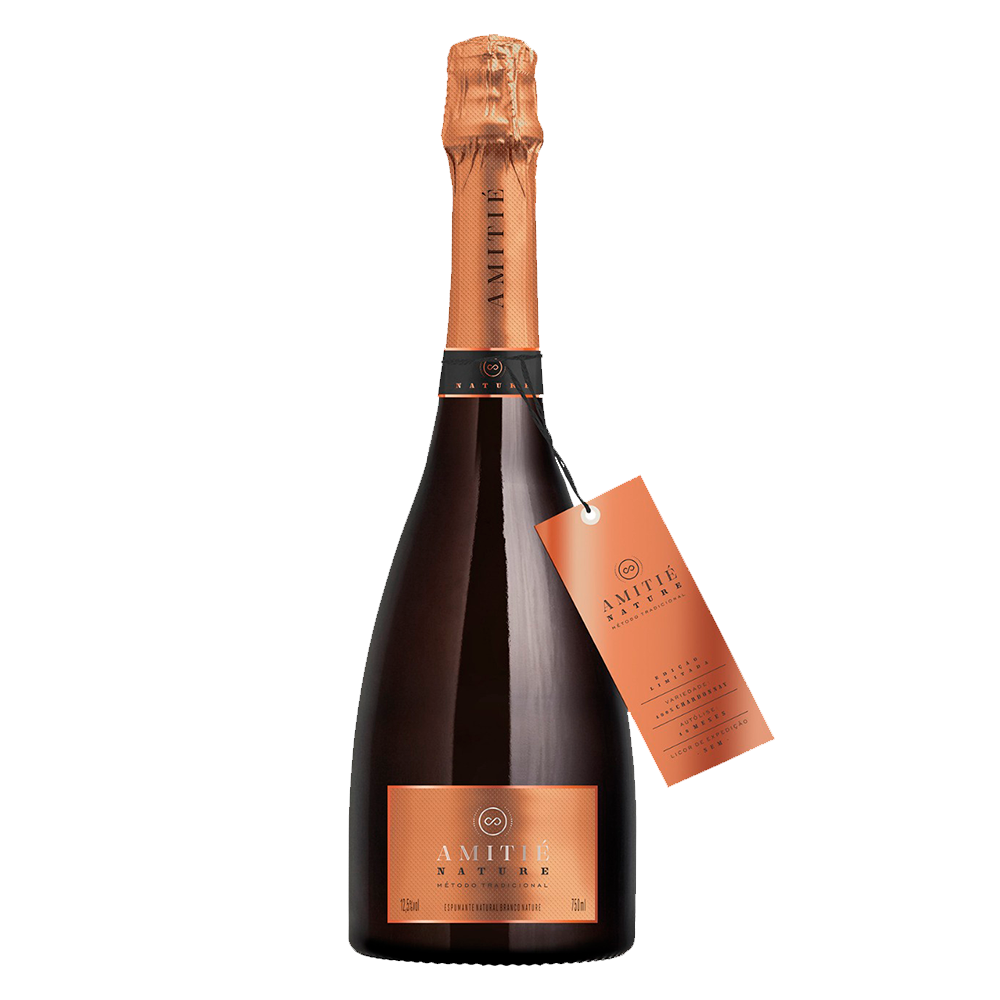 Espumante Amitié Brut Nature 750ml