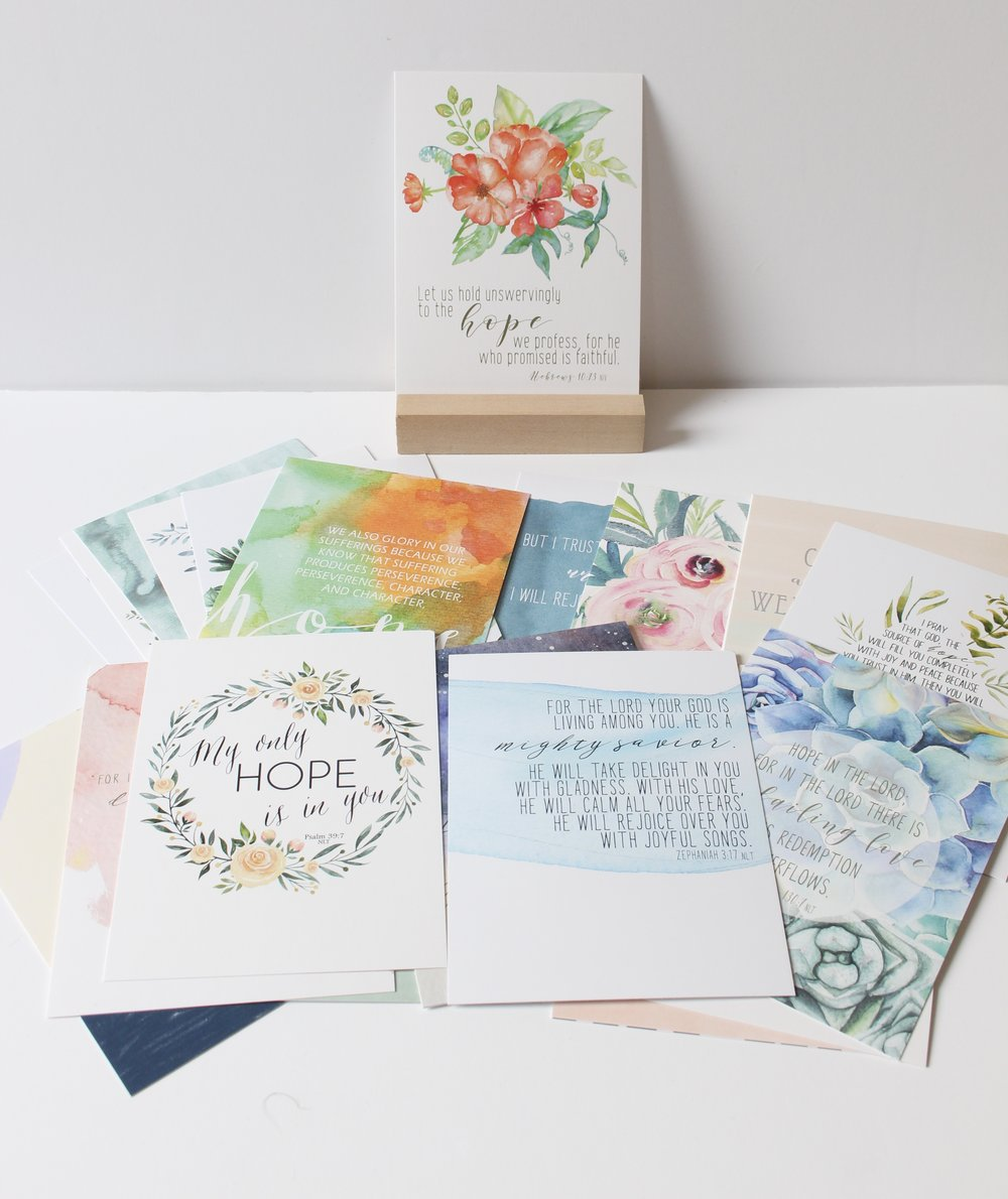 Hope Scripture Cards
