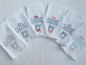 """Choose Joy"" Kitchen Towel"