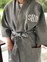 Load image into Gallery viewer, Monogrammed Kimono Robe
