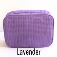 Load image into Gallery viewer, Monogrammed Cosmetic Bag