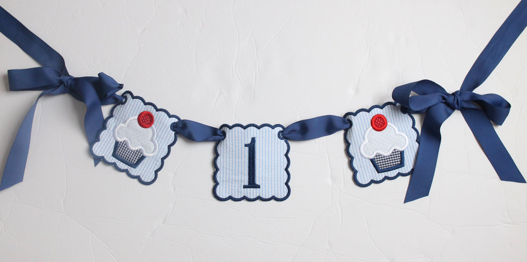 Boy's Birthday Party Banner