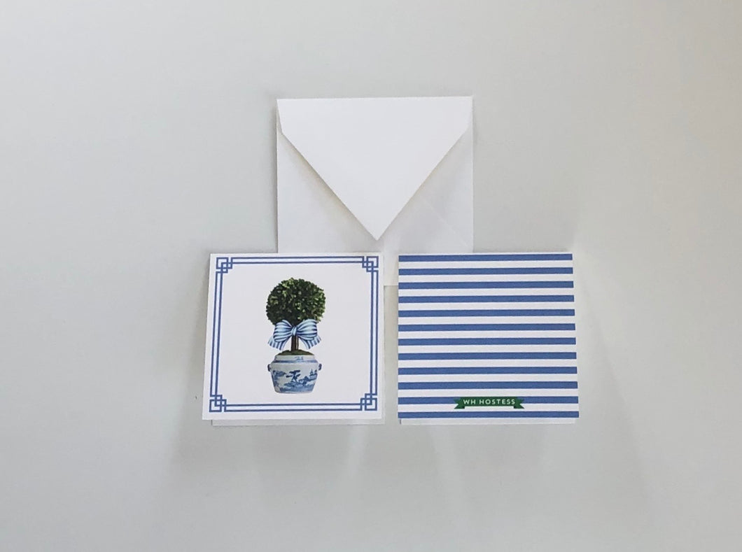 Topiary Gift Enclosure Cards