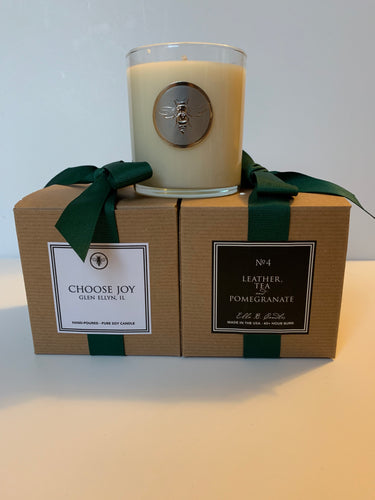 Choose Joy Candle, Glen Ellyn