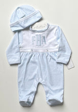 Load image into Gallery viewer, Monogrammed Boy's Footie Sleeper