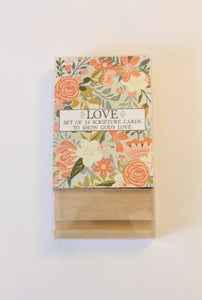 Love Scripture Cards