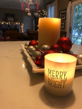 Load image into Gallery viewer, Merry and Bright Ella B Candle