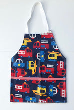 Load image into Gallery viewer, Monogrammed Transportation Toddler Smock