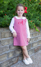 Load image into Gallery viewer, Monogrammed Jumper Dress