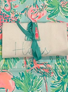 "Lily Pulitzer  ""He is Risen"" Towel"
