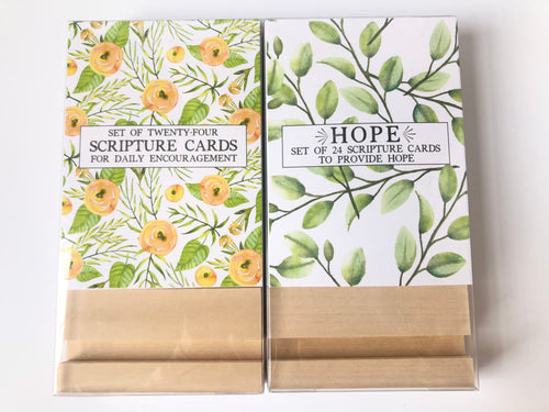Encouragement Scripture Cards