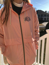 Load image into Gallery viewer, Monogrammed Pink Raincoat