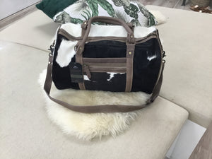 Phil Bee Cowhide Dufel Bag