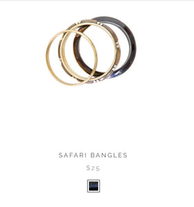 Humidity Sarafi Bangle Set of3