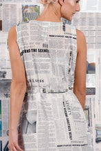 Load image into Gallery viewer, Maud Dainty Edition Dress Newspaper
