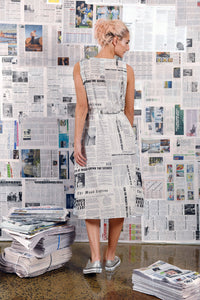 Maud Dainty Edition Dress Newspaper