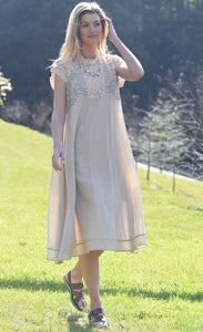 Maud Dainty Ibis Dress Natural