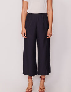 Pol Ankle Split Pant Black