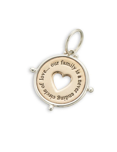 Palas Family Circle of Love Charm