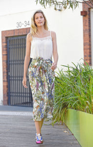 Maud Dainty Shredded Skirt Botanicals