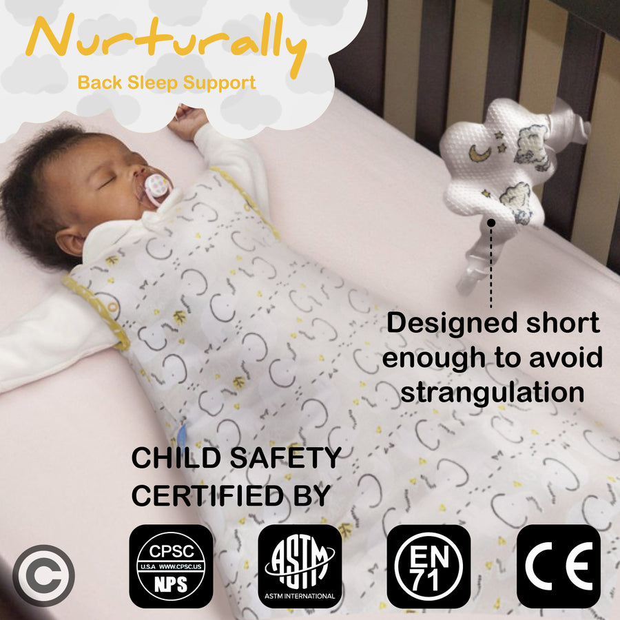 Nurturally Baby Anti Roll Support for babies from 3 to 6 months old
