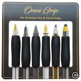 Omni Grip 6 Pack Comfort Grips for Pen and Pencil