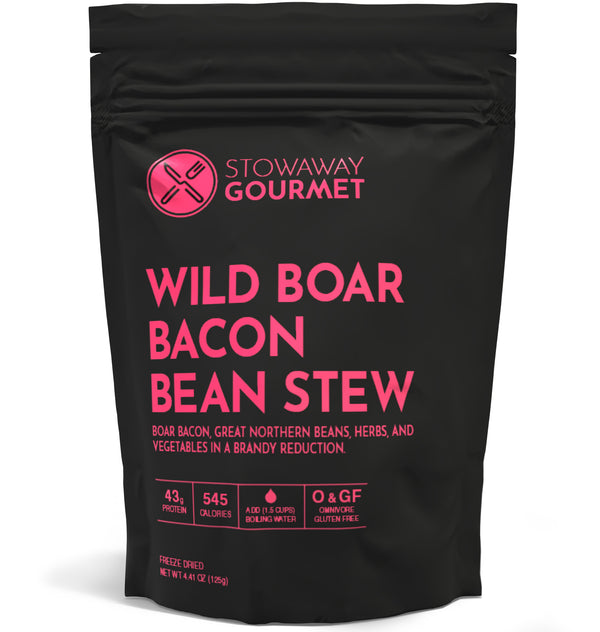 Wild Boar Bacon Bean Stew