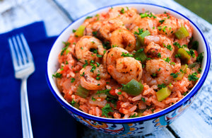 Jambalaya with Shrimp