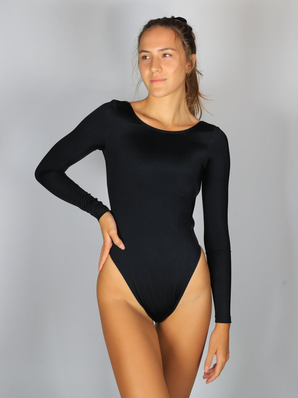 Daisy Duke One-Piece / Sparkle Black