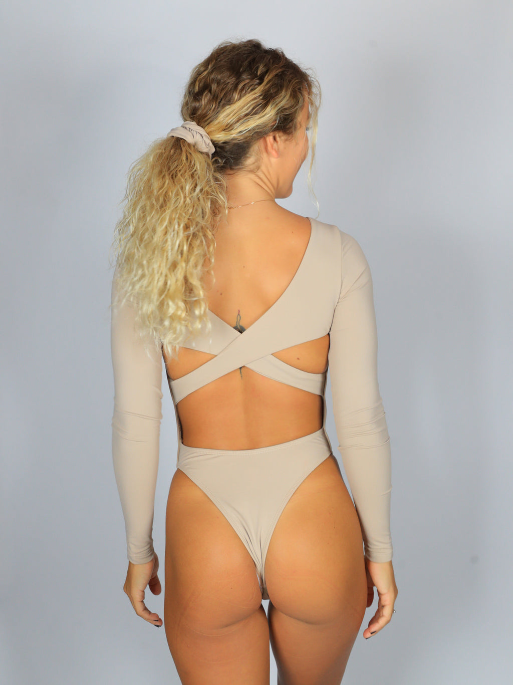 Daisy Duke One-Piece / Mocha