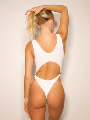 Summer One-Piece / White