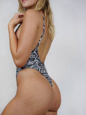 Pretty Girl One-Piece / Snake Skin
