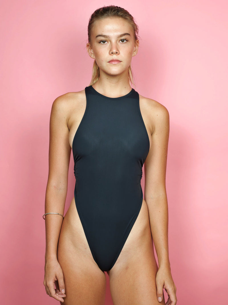 Rich Girl One-Piece / Black