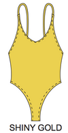 Pretty Girl One-Piece / (shiny multi colors)