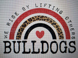 PREORDER! R&B Bulldogs We Rise By Lifting Others Tee - Ships in THREE Weeks!