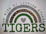 PREORDER! Tigers We Rise By Lifting Others Tee - Ships in THREE Weeks!