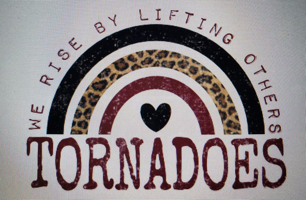 PREORDER! Tornadoes We Rise By Lifting Others Tee - Ships in THREE Weeks!