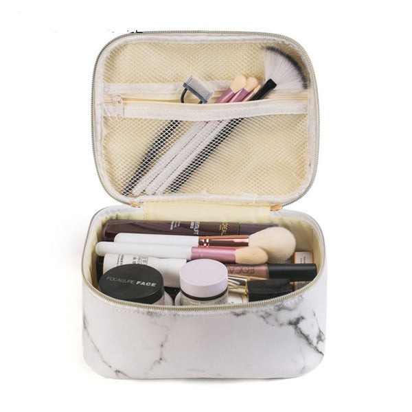 Marble Makeup Case