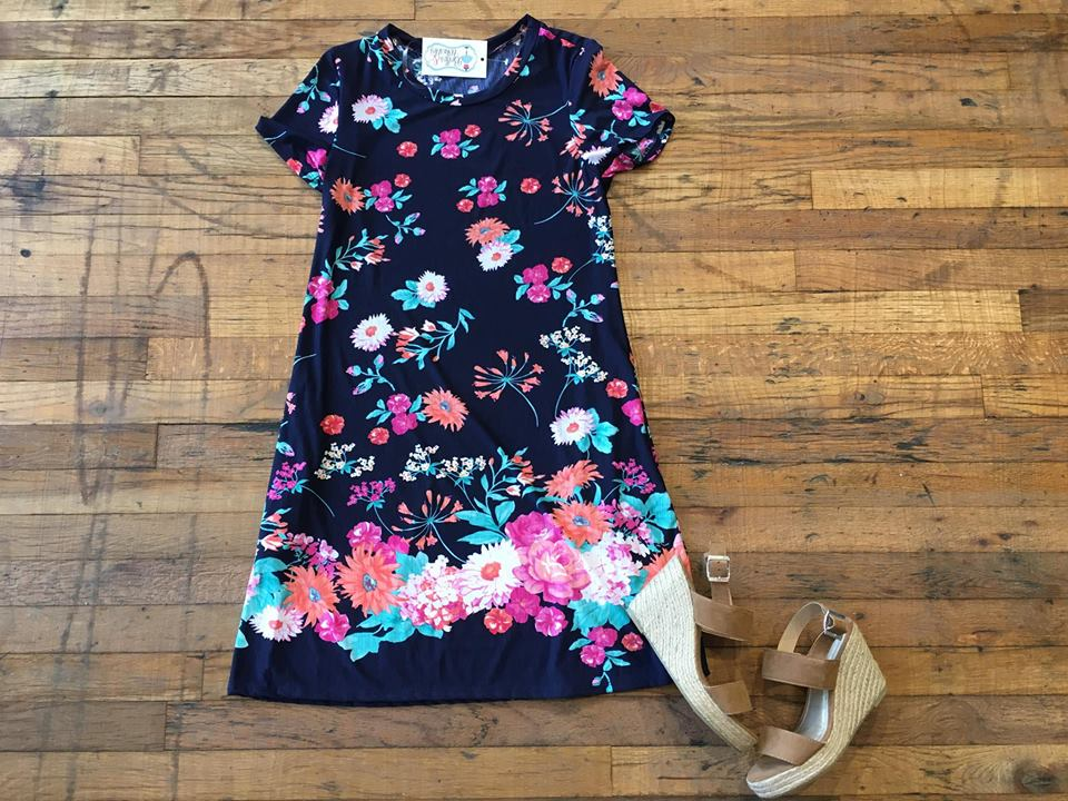 SALE! Pretty Days Floral Dress