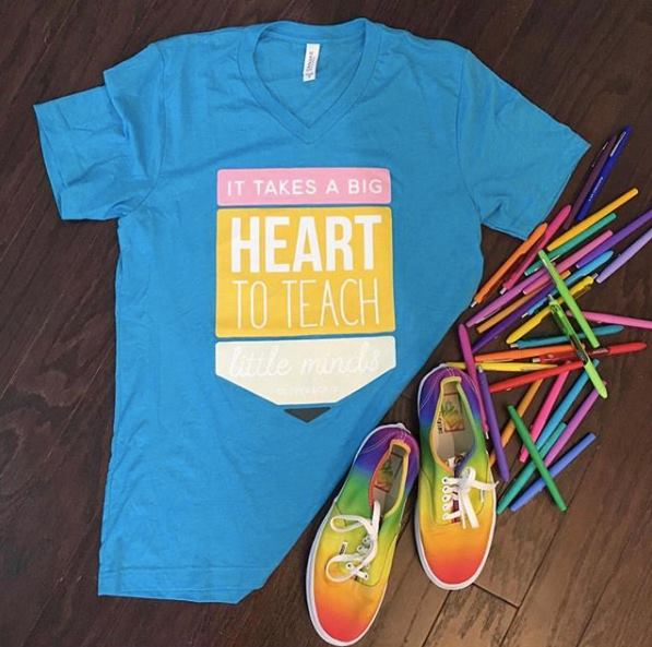 SALE! Big Heart Little Minds Tee