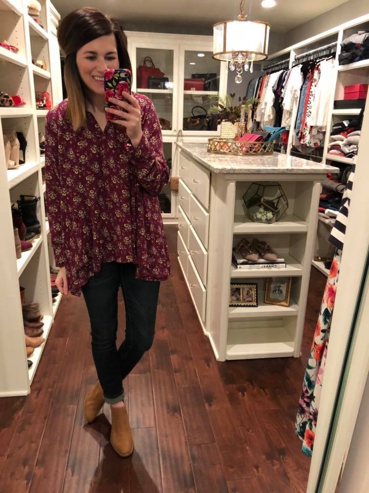 SALE! Berry Blooms Tunic