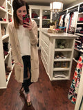 Bellamy Hooded Cardigan in Oatmeal