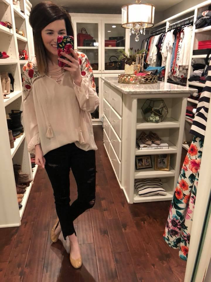 Living Out Loud Top in Taupe
